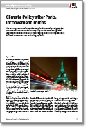 No. 203: Climate Policy After Paris: Inconvenient Truths