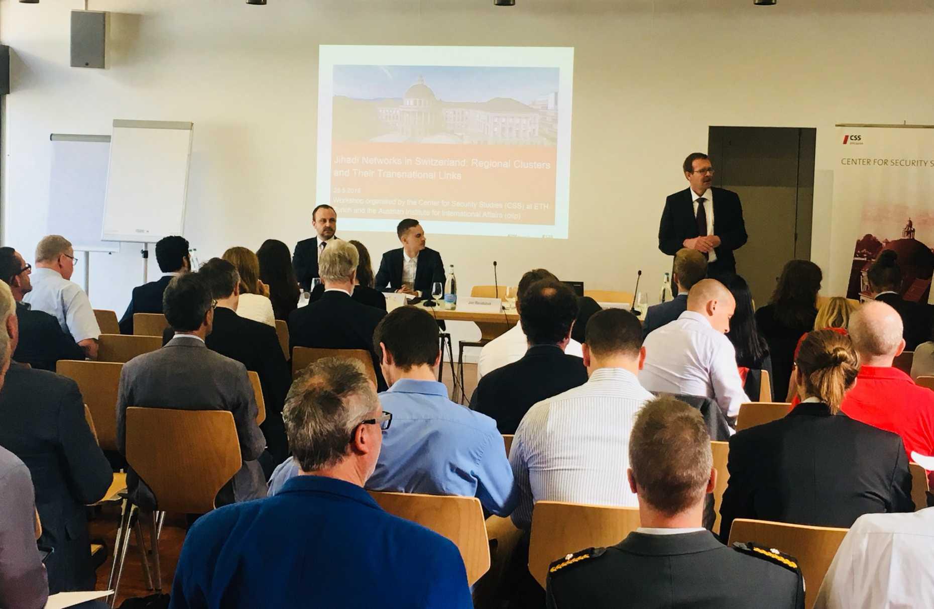 ETH Workshop: Jihadi Networks in Switzerland  Regional Clusters and